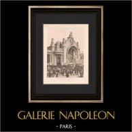 Architecture - Exposition coloniale de Marseille - Grand Palais (Bentz)