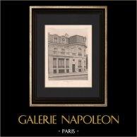Architecture - Hôtel particulier at Paris (Barberis & Fournier de St Maur)