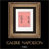 Collection du Cabinet Secret - Erotica - Phallus - Hermès - Faune Barbu et Cornu | Impression sur papier velin. Anonyme. 1959