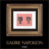 Collection of the Secret Cabinet - Erotica - Italian Vase - Basilicata - Bacchus