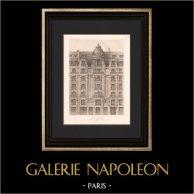 Architecture - House - Rue de Grenelle in Paris (Deglane)