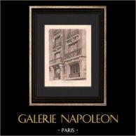 Architecture - Maison de rapport - Rue de Grenelle à Paris (Deglane)