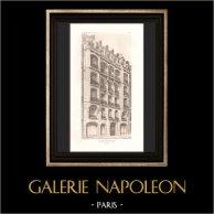Architecture - House - Avenue Victor Hugo in Paris (Plumet)