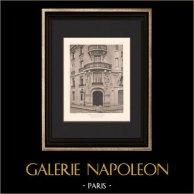 Architecture - House - Boulevard Raspail in Paris (Chifflot)