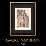 Architecture - Washington Palace in Paris (Gagey)