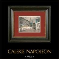 Castle of Compiègne - The Tapestry Gallery - Mardochens Triumph | Original photochrom print. Anonymous. 1890