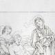 DÉTAILS 02   Bible - Jésus Christ - La Déposition de Croix - La Mise au Tombeau (Le Dominiquin - Domenichino)
