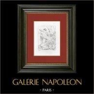 Hercule combattant l'Hydre de Lerne (Le Guide - Guido Reni)