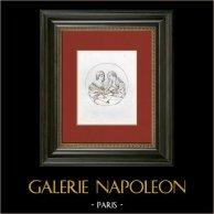 Alegoria - Desenho e Cor (Guido Reni)