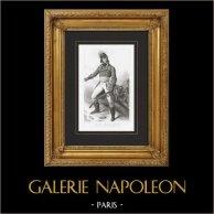 Portrait du General Joubert (1769-1799) - Guerres de la Révolution Française - Guerres Napoléoniennes