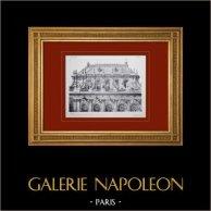 Palacio de Versalles - Chapelle - Partie supérieure de la face sud