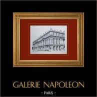 Palacio de Versalles - Façade sur les Jardins - Angle ouest-sud