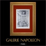 Château de Versailles - Chapelle vue prise de la Tribune Royale