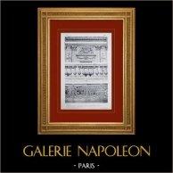 Palácio de Versalhes - Chapelle - Balustrade - Grille du choeur