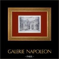 Palacio de Versalles - Chapelle - Vestibule 1er étage (Robert de Cotte)