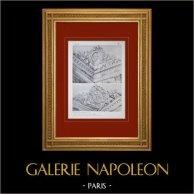 Palacio de Versalles - Chapelle - Vestibule 1er étage - Sculptures