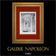 Palacio de Versalles - Chapelle - Vestibule 1er étage - Statue de la Gloire (Vassé)