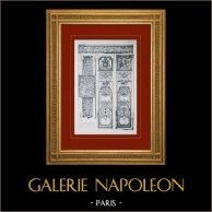 Palacio de Versalles - Chapelle - Porte de la Tribune Royale