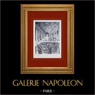 Palacio de Versalles - Galerie des Glaces (Hardouin-Mansart et Le Brun)