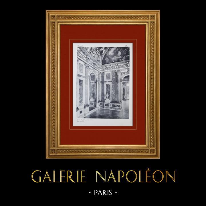 Gravures Anciennes & Dessins | Château de Versailles - Galerie des Glaces | Héliogravure | 1911