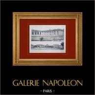Palácio de Versalhes - Le Grand Trianon - Façade côté cour