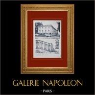 Château de Versailles - Le Grand Trianon - Trianon-sous-Bois - Balustrade