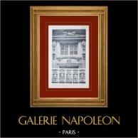 Schloss Versailles - Le Grand Trianon - Trianon-sous-Bois - Baies - Mascarons