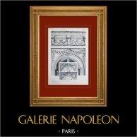Schloss Versailles - Le Grand Trianon - Salon des Glace - Dessus de glaces