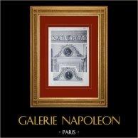 Schloss Versailles - Le Grand Trianon - Salon des Malachites - Dessus de porte