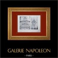 Schloss Versailles - Le Grand Trianon - Salon des Malachites - Salon des Sources