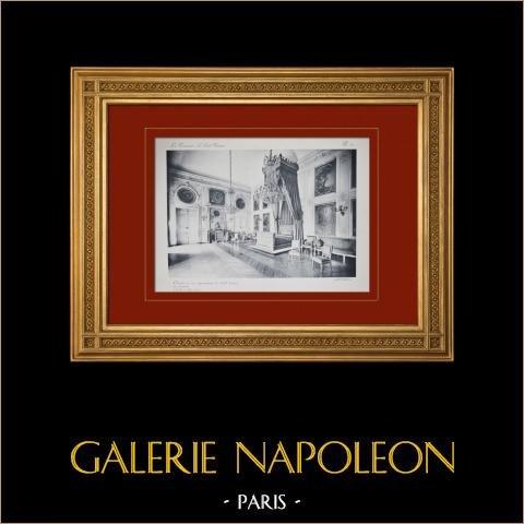 Pałac Wersalski - le Grand Trianon - Chambre du roi |