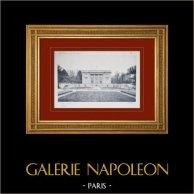 Château de Versailles - Le Petit Trianon - Façade sur le jardin français