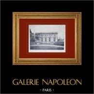 Château de Versailles - Le Petit Trianon - Façade sur le jardin anglais