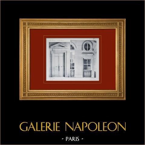 Pałac Wersalski - le Petit Trianon - Wielki Escalier |