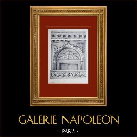 Pałac Wersalski - le Petit Trianon - Grande Salle à Manger - Dessus de Porte |
