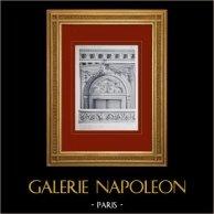 Château de Versailles - Le Petit Trianon - Grande salle à manger - Dessus de porte