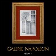 Palace of Versailles - Le Petit Trianon - Grande salle à manger - Rosace du plafond