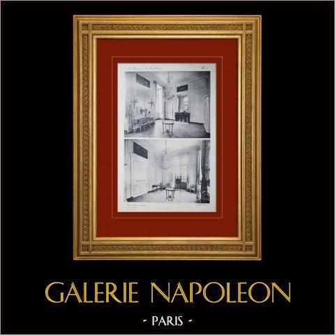 Pałac Wersalski - le Petit Trianon - Petite Salle à Manger |