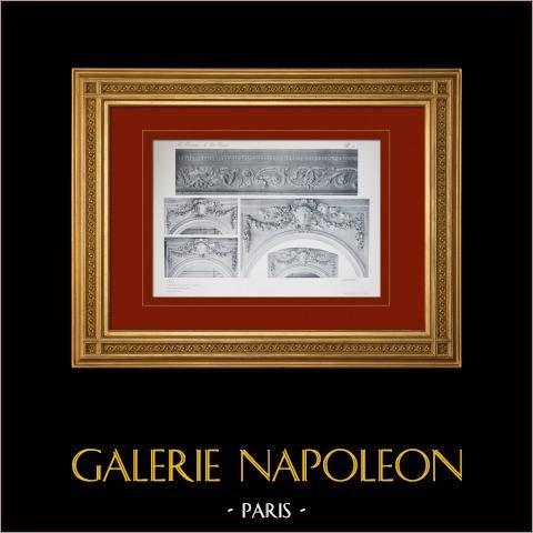 Pałac Wersalski - le Petit Trianon - Salon - Detale |