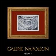 Palace of Versailles - Le Petit Trianon - Salon - Plafond