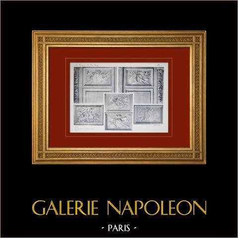 Pałac Wersalski - le Petit Trianon - Salon - Lambris |