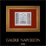 Palacio de Versalles - Le Petit Trianon - Salon - Rosace - Guirlandes
