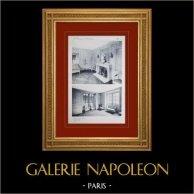 Slottet i Versailles - Le Petit Trianon - Boudoir de la Reine