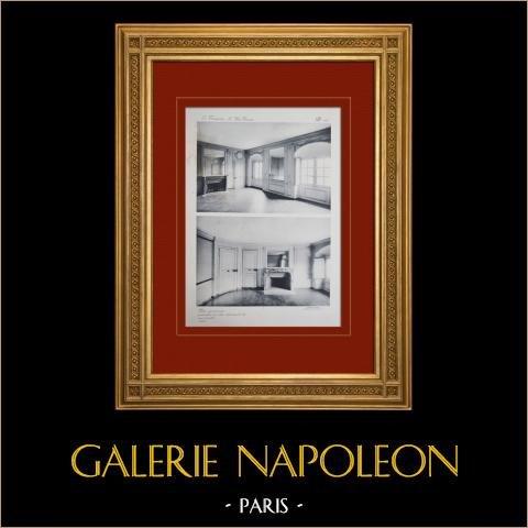 Pałac Wersalski - le Petit Trianon - Petits Appartements - Grand Salon i Salon Ovale |