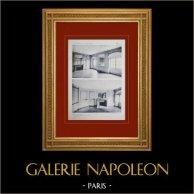 Palace of Versailles - Le Petit Trianon - Petits Appartements - Grand Salon et Salon Ovale