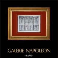 Palace of Versailles - Le Petit Trianon - Appartements du second étage - Détails du lambris