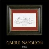 Allegory - Force - Prudence - Temperance (Raphael - Raffaello Sanzio)