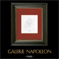 Mythology - Jupiter and Ganymede (Raphael - Raffaello Sanzio)