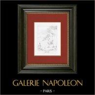Mythology - Cupid and Pan (Raphael - Raffaello Sanzio)