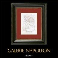 Allegories - Divinities and their Attributes (Raphael - Raffaello Sanzio)